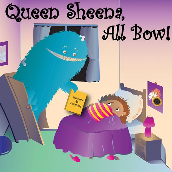Picture of Queen Sheena, All Bow cover art.