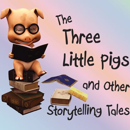 Picture of Three Little Pigs-Storytelling cover art.