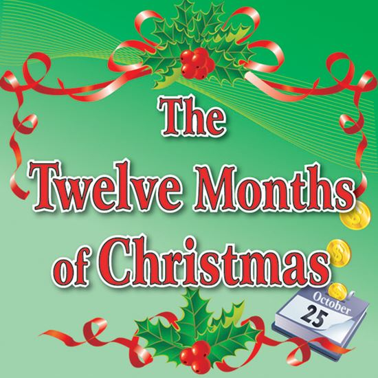 Picture of Twelve Months Of Christmas cover art.