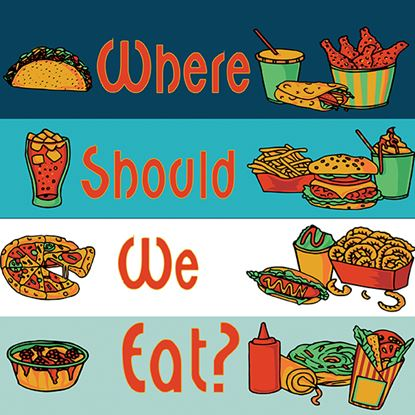 Picture of Where Should We Eat cover art.