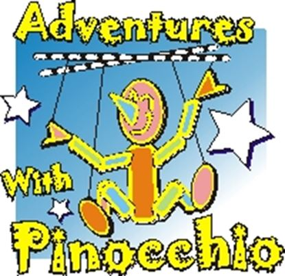 Picture of Adventures With Pinocchio cover art.