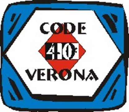 Picture of Code 40:  Verona cover art.