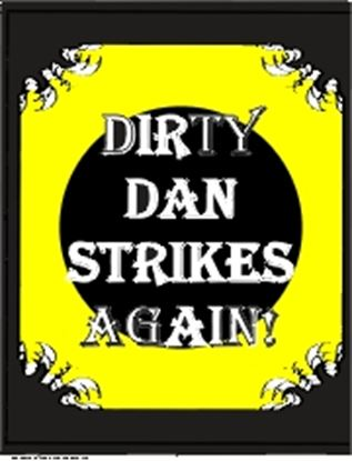 Picture of Dirty Dan Strikes Again! cover art.