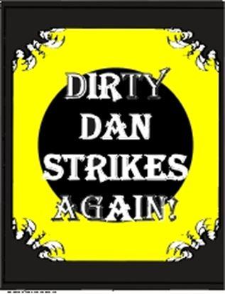 Picture of Dirty Dan Strikes Again! cover art.