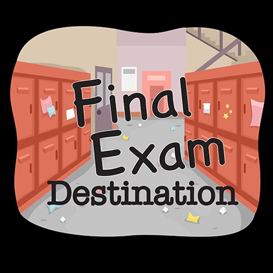 Picture of Final Exam Destination cover art.
