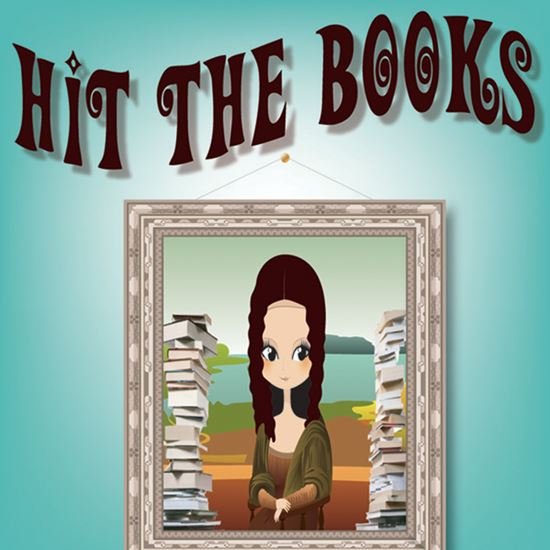Picture of Hit The Books cover art.