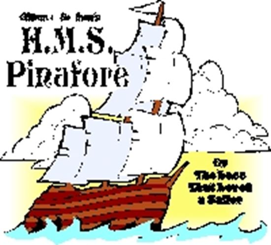Picture of Hms Pinafore cover art.