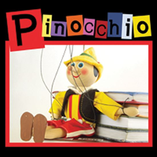 Picture of Pinocchio cover art.