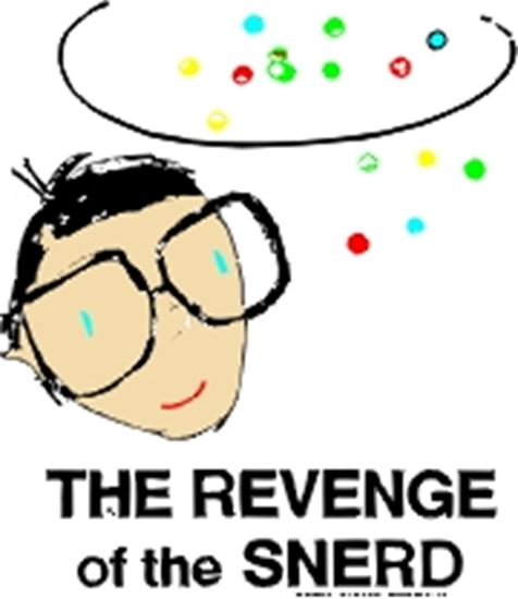 Picture of Revenge Of The Snerd cover art.