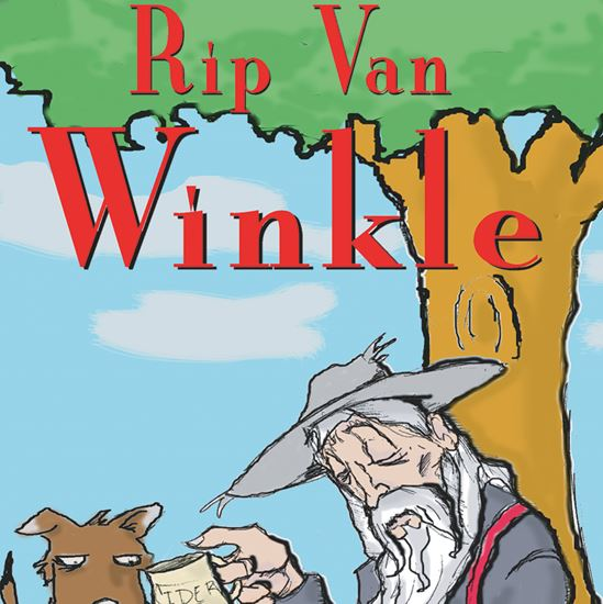 Picture of Rip Van Winkle cover art.