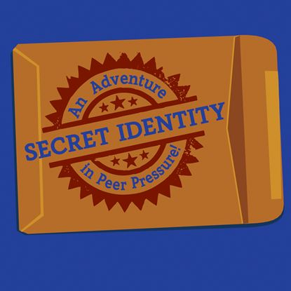 Picture of Secret Identity: Adventure... cover art.