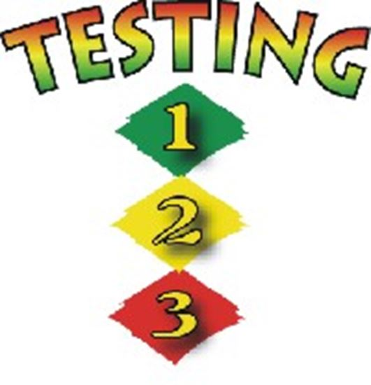 Picture of Testing 1, 2, 3 cover art.
