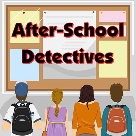 Picture of After-School Detectives cover art.