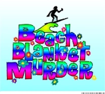 Picture of Beach Blanket Murder cover art.