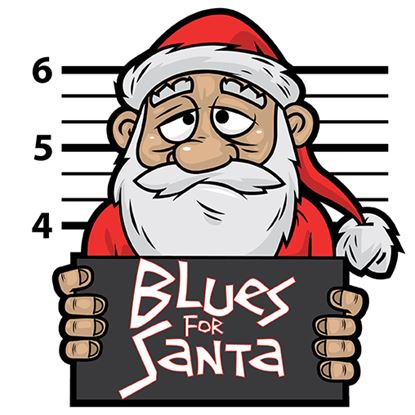 Picture of Blues For Santa cover art.