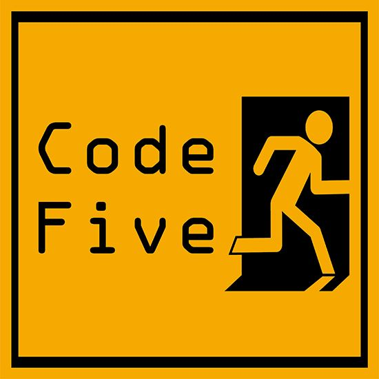 Picture of Code Five cover art.