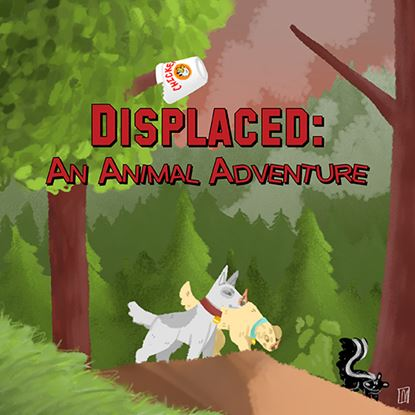 Picture of Displaced: An Animal Adventure cover art.