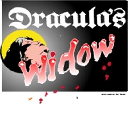 Picture of Dracula's Widow cover art.