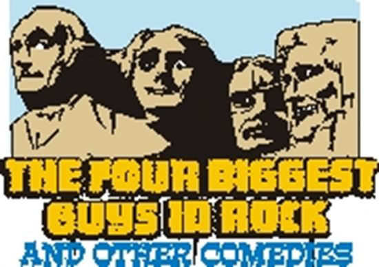 Picture of Four Biggest Guys In Rock.... cover art.