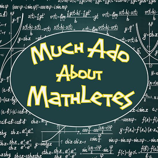 Picture of Much Ado About Mathletes cover art.