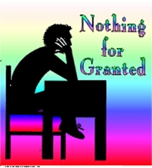 Picture of Nothing For Granted cover art.