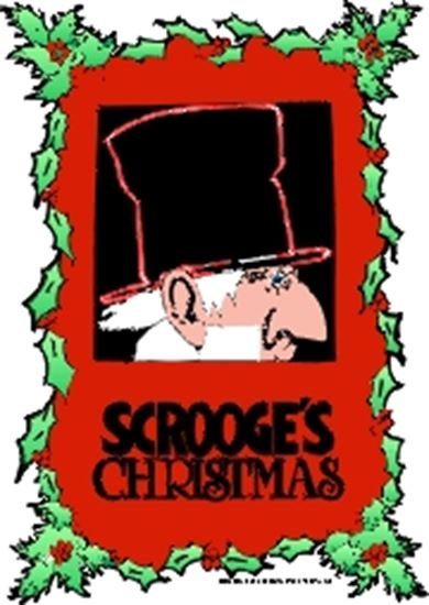 Picture of Scrooge's Christmas cover art.