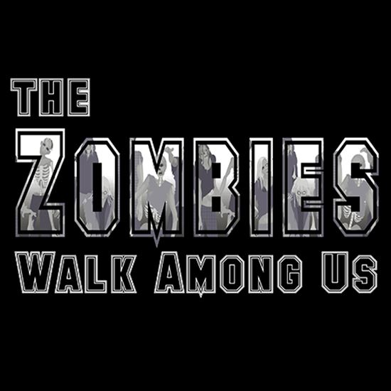 Picture of The Zombies Walk Among Us cover art.