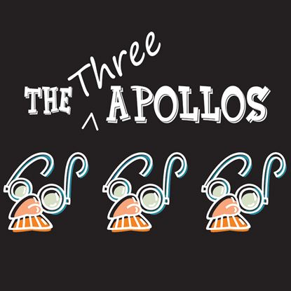 Picture of Three Apollos, The cover art.
