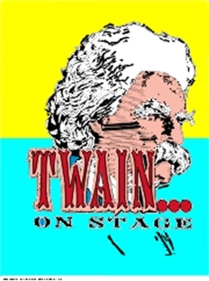 Picture of Twain On Stage cover art.