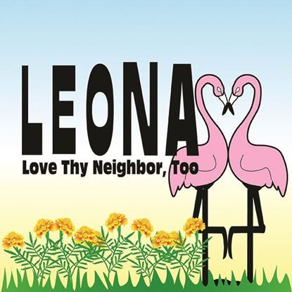 Leona, Love Thy Neighbor, Too cover art.